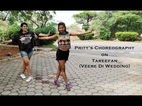 Tareefan | Prity's Choreography | Prity Woman | Veere Di Wedding