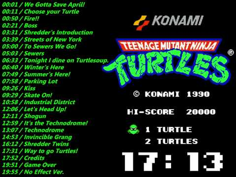 Nes: Teenage Mutant Ninja Turtles 2 Soundtrack