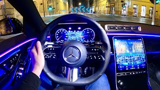 New Mercedes S-Class 2021 - Crazy HEAD-UP Display With AUGMENTED REALITY (77-inch Diagonal)