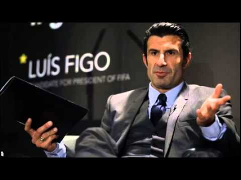 Figo: Sepp Blatter's rival pulls out of Fifa election