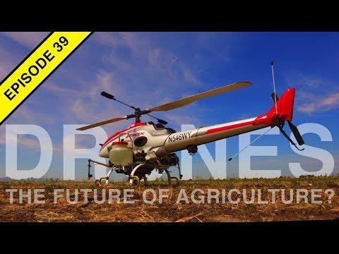 Yamaha RMAX Agricultural Drone!