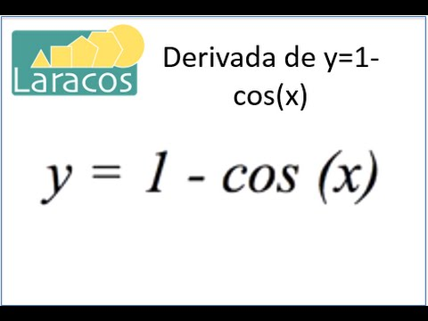 Derivada de y=1-cos(x) Travel Video