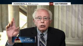 Senator Bernie Sanders responds to Tea Party, Ron Paul, & GOP w/TRUTH on poverty in America