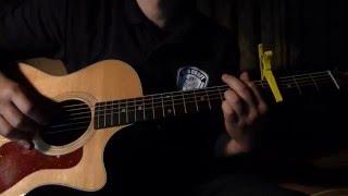 SUPER BUTTER DOG、ハナレグミの名曲ですね。 ギターはtaylor 314ceです...