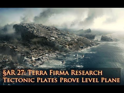 Tectonic Plates Prove Level Plane: Flat Earth