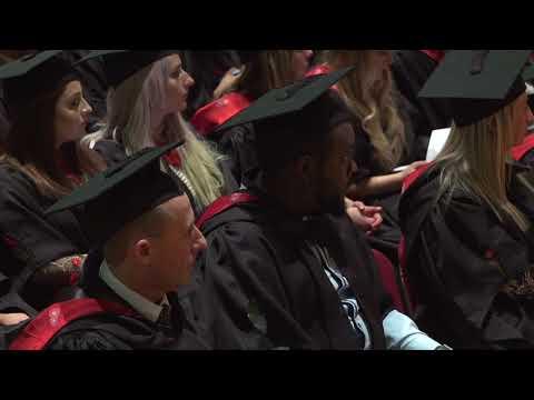 UCLan Graduation Ceremony: Wednesday 6 December 2017 – Morning