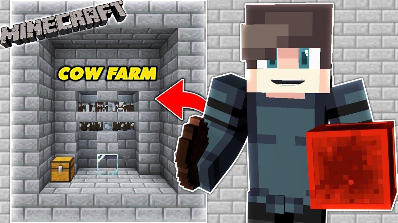 Minecraft : MÁY FARM THỊT BÒ VÀ KHO CHỨA THỊT (MK SURVIVAL TẬP 71) | MK Gaming