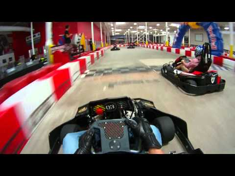 Go Kart Racing At K1 Speed