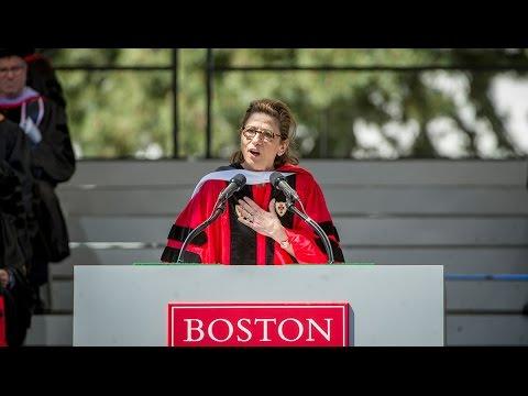 Nina Tassler: 2016 Boston University Commencement Speaker