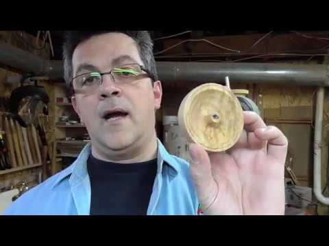 Woodturning -  finding a way for chucking a small piece