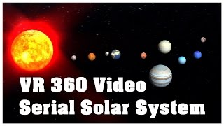 VR 360 Video Solar System Episode Face Of The Sun
