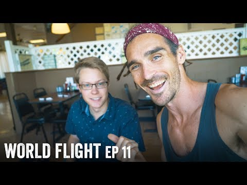 WE HAVE ANOTHER PILOT! - World Flight Episode 11