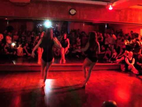 Shani Talmor And Cyra Cabrera Ladies Salsa Festival 2014