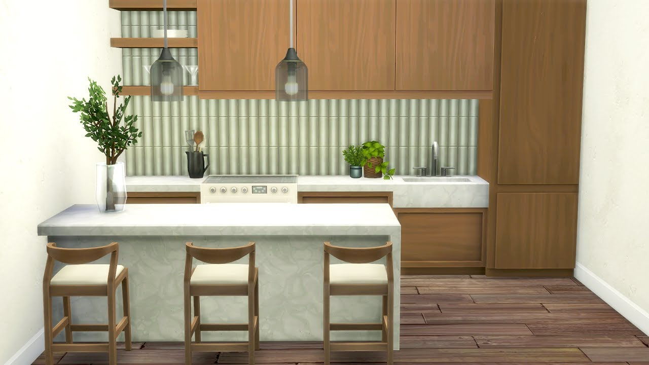NEW KITCHEN PACK! This CC for The Sims 12 is better than the actual game