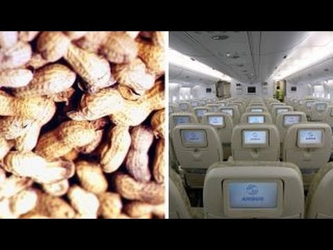 Severe peanut allergies and air travel risks