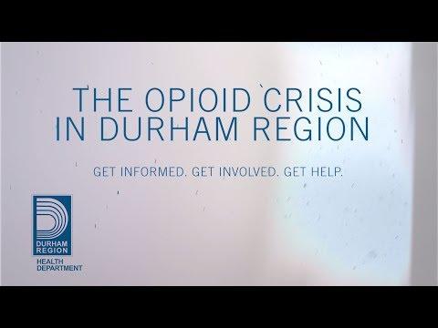 Opioids and Overdose Prevention - Region of Durham