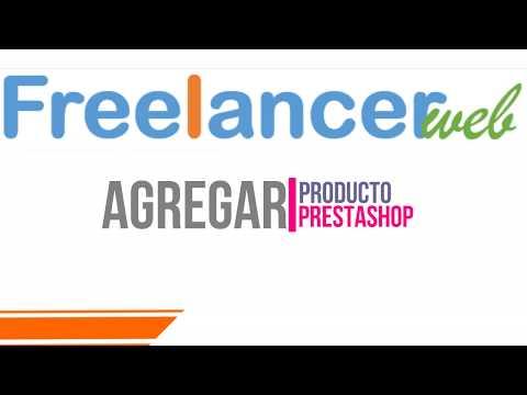 Agrega Producto PrestaShop Freelancerweb com mx