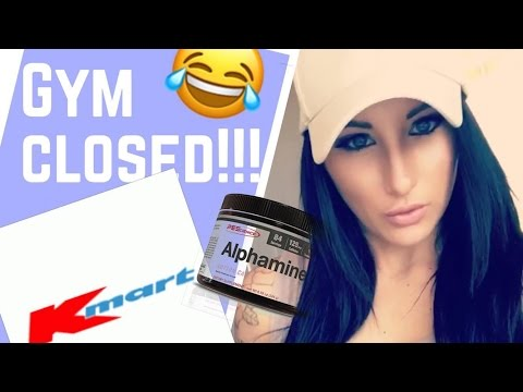 GYM CLOSED Ll Kmart It Is! !✓