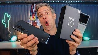 Xiaomi Mi Note 10 - Le 1er Smartphone 108Mpx et 5 capteurs !