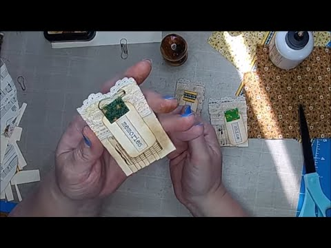 Tutorial: Paperclip Embellishments Part 11 (Accordion Folded Paperclips)