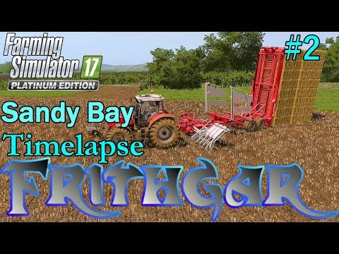 FS17 Timelapse, Sandy Bay #2: Straw For The Pigs!