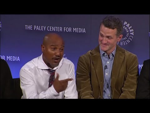 The Wire's Sgt. Carver (Seth Gilliam) doing an impersonation of Sgt. Herc HILARIOUS