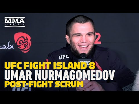 UFC Fight Island 8: Umar Nurmagomedov Says UFC Debut Was Not Best Performance, Hopes Khabib Returns