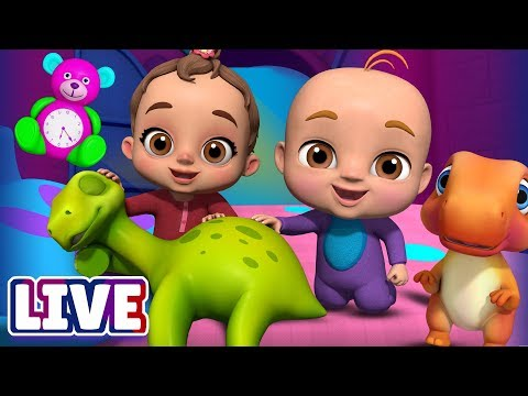Are You Sleeping? & Many More Baby Songs & 3D Nursery Rhymes by ChuChu TV – LIVE Stream - Ржачные видео приколы