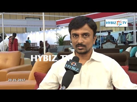 Venkat Ramana | Custom Furnish | Furniture expo 2017 Hitex Hyderabad | hybiz