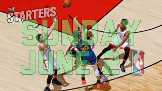 NBA Daily Show: June 2 - The Starters
