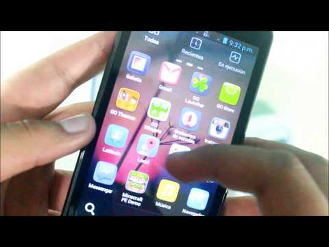 UNBOXING: Cobalt SP500 5 Capacitive Touch Screen Android 4.0 Cell Phone