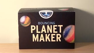Make your own PLANETS!!! (bouncy balls)