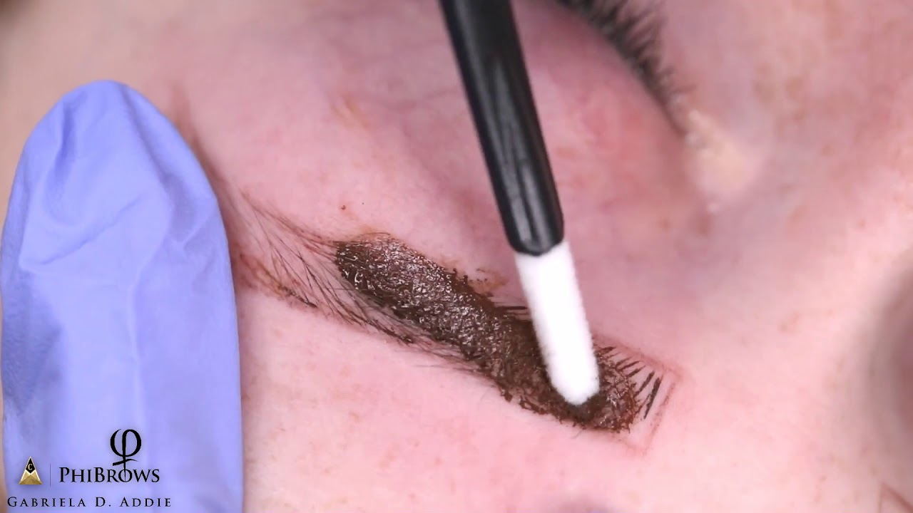 What Does Microblading Eyebrows Look Like by Gabriela Addie