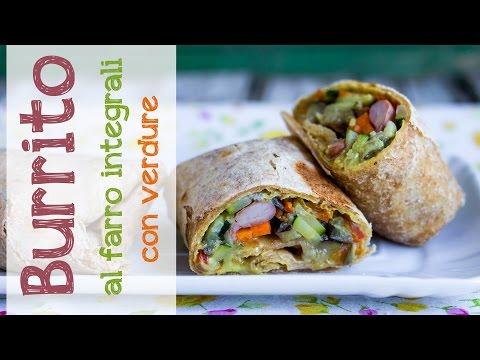 Burrito al farro con verdure | Ricetta Vegan thumbnail