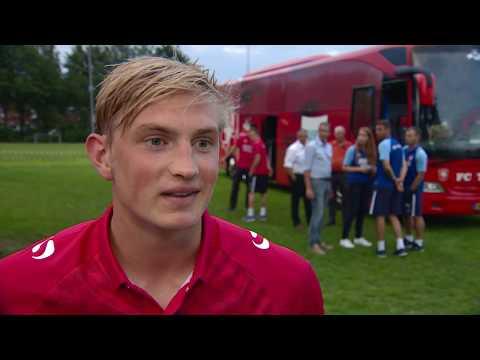 Richard Jensen sluit aan bij het eerste elftal (TV Enschede)