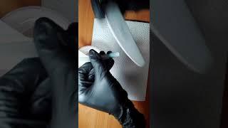 Снятие гель лака с типсы|Простой способ| Viktoria Nails
