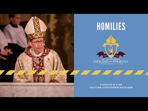 Bishop Olmsted's Homily for Sunday of the Passion: Palm Sunday, April 14, 2019