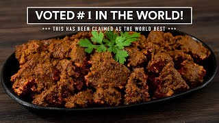 I made the #1 BËEF in the WORLD and it Blew my mind! Beef Rendang.
