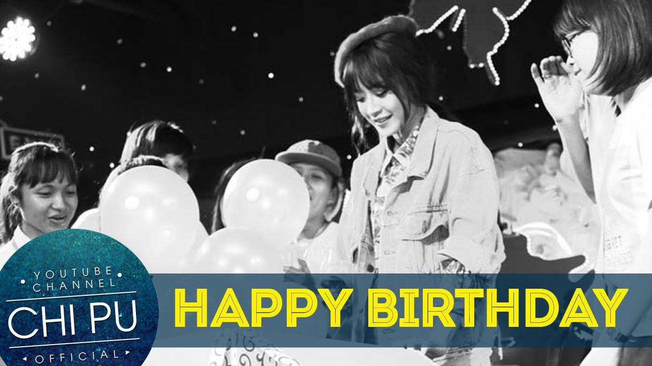 Chi Pu | Offline sinh nhật 22 | Chi Pu rơi nước mắt khi được fan tổ chức sinh nhật muộn