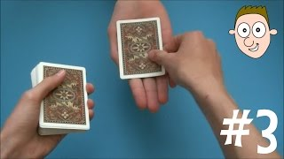Card Trick 3: David Blaine Hand Sandwich Trick (Here Then There)