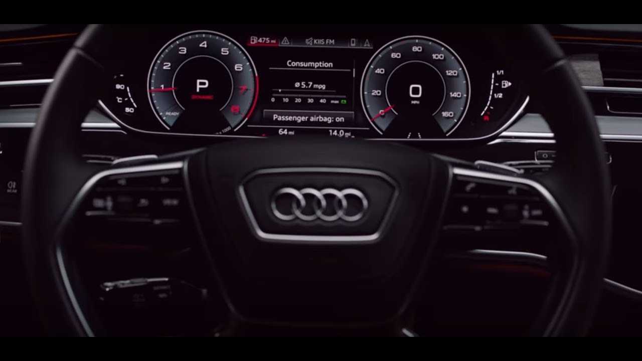 audi 2019 a8 defined  interior design