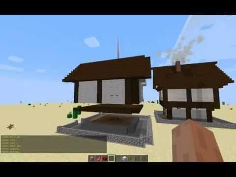 видео: Как сделать красивый дом за 10 сек в Minecraft без модов !