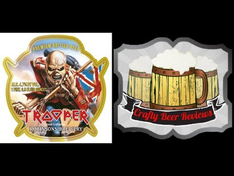 Robinsons Trooper (Iron Maiden, US Release) | Crafty Beer Reviews: Episode #178