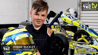Meet TKC's Junior Drivers - Robbie Buckley