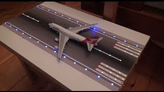 Model Airport Runway Lights Prototype - Phoenix and GeminiJets 1:400 scale