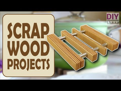 Scrap Wood Projects #3 - Plywood Pot Coaster