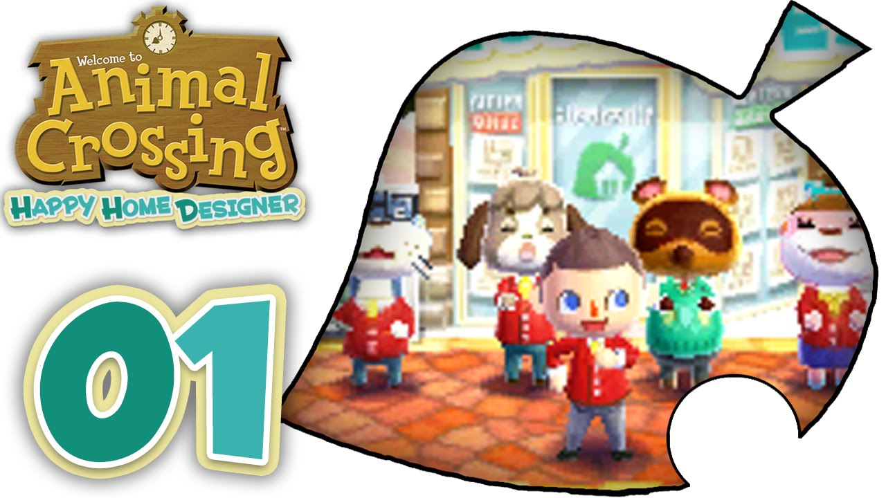 Animal Crossing Happy Home Designer - Part 1! [English Gameplay Walkthrough] - YouTube