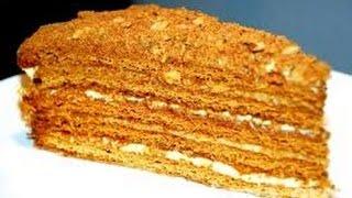 Торт медовый пошаговый рецепт