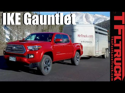 2016 Toyota Tacoma Takes On The Extreme Ike Gauntlet Towing Review