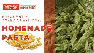 Answering Frequently Asked Questions about Cooking with Fresh Pasta